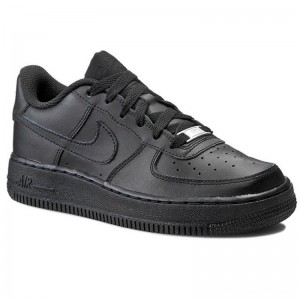Nike Schuhe Air Force 1 (GS) 314192 009 Black/Black