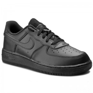 Nike Schuhe Force 1 (PS) 314193 009 Black/Black/Black