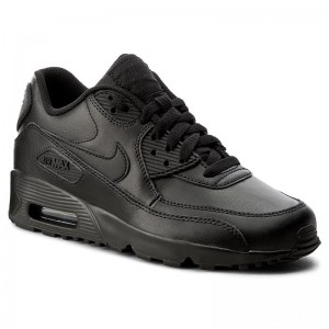 Nike Schuhe Air Max 90 Ltr (GS) 833412 001 Black/Black