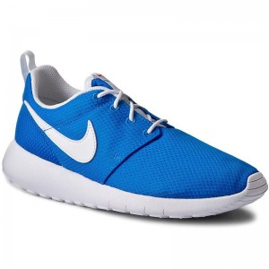 Nike Schuhe Roshe One (GS) 599728 422 Photo Blue/White/Safety Orange