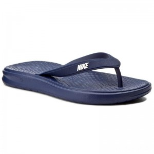 Nike Zehentrenner Solay Thong 882690 400 Binary Blue/White