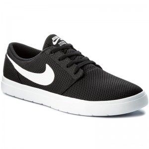 Nike Schuhe Sb Portmore II Ultralight 880271 010 Black/White