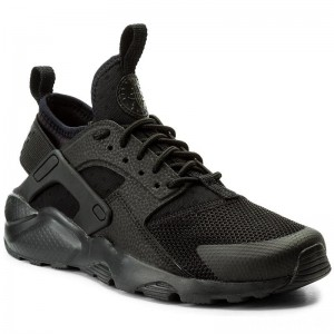 Nike Schuhe Air Huarache Run Ultra Gs 847569 004 Black/Black