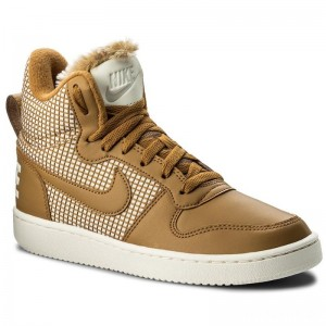 Nike Schuhe Court Borough Mid Se 916793 700 Wheat/Wheat/Sail