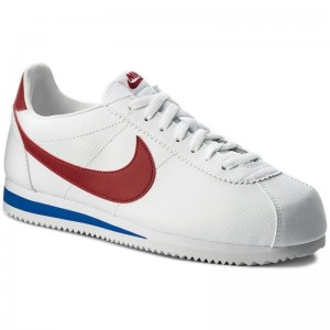Nike Schuhe Classic Cortez Leather 749571 154 White/Varisty Red