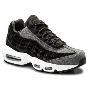 Nike Schuhe Air Max 95 Prm 807443 014 Black/Black/White
