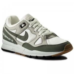 Nike Schuhe Air Span II AH6800 100 Summit White/Dark Stucco