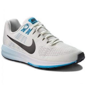 Nike Schuhe Air Zoom Structure 21 904701 007 Vast Grey/Black/Sail