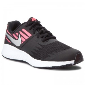 Nike Schuhe Star Runner (GS) 907257 004 Black/Metallic Silver