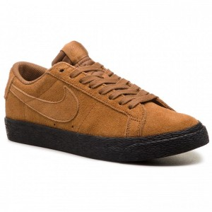Nike Schuhe Sb Zoom Blazer Low 864347 200 Lt British Tan/Lt British Tan