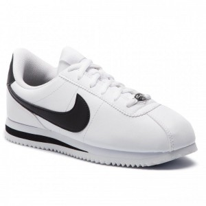 Nike Schuhe Cortez Basic Sl (GS) 904764 102 White/Black