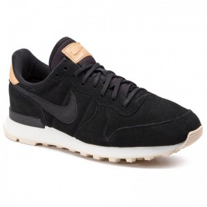 Nike Schuhe Internationalist Prm 828404 017 Black/Black/Summit White