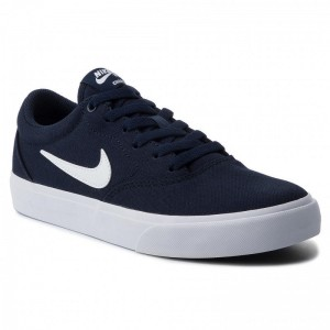 Nike Schuhe Sb Charge Slr CD6279 400 Obsidian/White