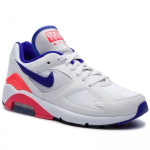 Nike Schuhe Air Max 180 AH6786 100 White/Ultramarine/Solar Red