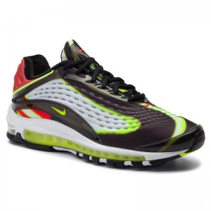 Nike Schuhe Air Max Deluxe AJ7831 003 Black/Volt/Habanero/Red/White