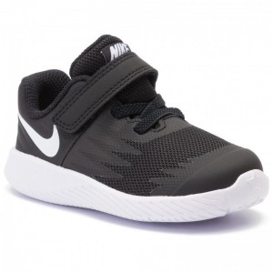 Nike Schuhe Star Runner (TDV) 907255 001 Black/White Volt