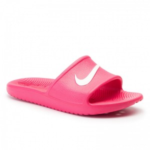 Nike Pantoletten Kawa Shower (Gs/Ps) BQ6831 601 Rush Pink/White
