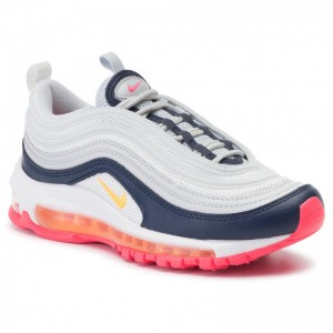 Nike Schuhe Air Max 97 921733 015 Pure Platinum/Laser Orange