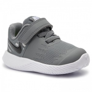 Nike Schuhe Star Runner (Tdv) 907255 006 Cool Grey/Black/Volt/Wolf Grey