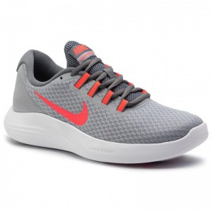 Nike Schuhe Lunarconverge 852469 009 Wolf Grey/Solar Red/Cool Grey