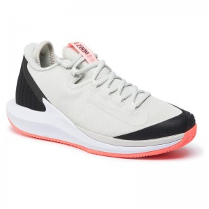 Nike Schuhe Nikecourt Air Zoom Zero Cly AA8017 009 Light Bone/Light Bone/Black