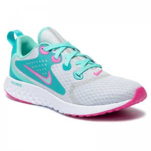 Nike Schuhe Legend React Aqua (GS) BV0795 001 Pure Platinum/Tropical Twist
