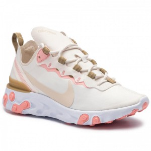 Nike Schuhe React Element 55 BQ2728 007 Phantom/Lt Orewood Brn