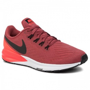 Nike Schuhe Air Zoom Structure 22 AA1636 600 Cedar/Black/Bright Crimson