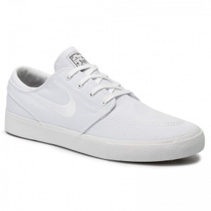 Nike Schuhe Sb Zoom Janoski Cnvs Rm AR7718 100 White/White/Gum Light Brown