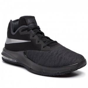 Nike Schuhe Air Max Infuriate III Low AJ5898 007 Black/Mtlc Dark Grey