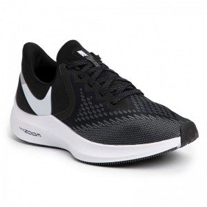 Nike Schuhe Zoom Winflo 6 AQ7497 001 Black/White/Dark Grey