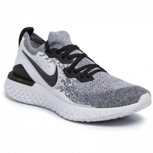 Nike Schuhe Epic React Flyknit 2 BQ8928 101 White/Black/Pure Platinum