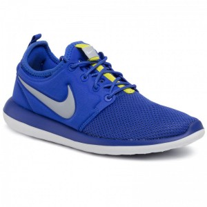 Nike Schuhe Roshe Two (Gs) 844653 401 Paramount Blue/Wolf Grey