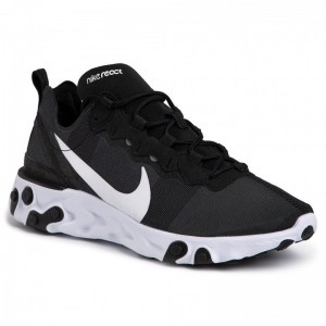 Nike Schuhe React Element 55 BQ6166 003 Black/White