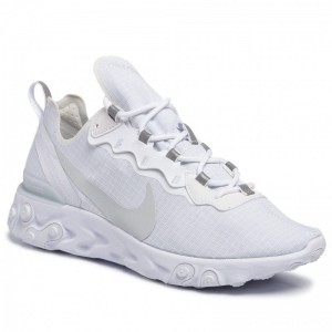 Nike Schuhe React Element 55 Se Su19 BQ6167 101 White/Pure Platinum