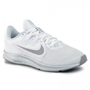 Nike Schuhe Downshifter 9 AQ7486 100 White/Wolf Grey/Pure Platinum