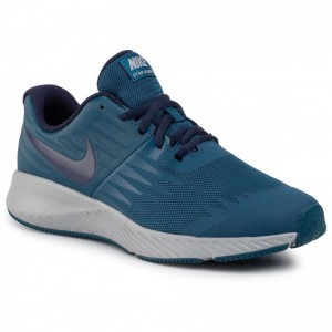 Nike Schuhe Star Runner (Gs) 907254 407 Blue Force/Blackened Blue