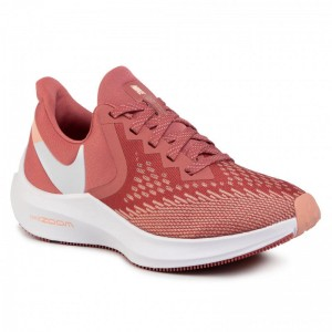 Nike Schuhe Zoom Winflo 6 AQ8228 800 Light Redwood/White