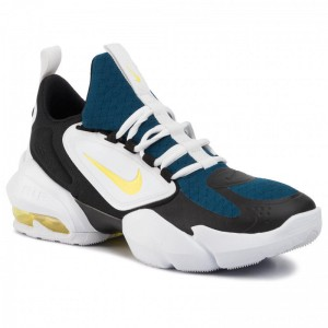 Nike Schuhe Air Max Alpha Savage AT3378 471 Blue Force/Dynamic Yellow
