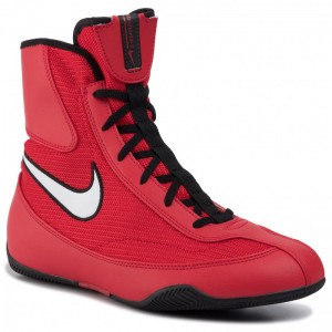 Nike Schuhe Machomai 321819 610 University Red/White/Black
