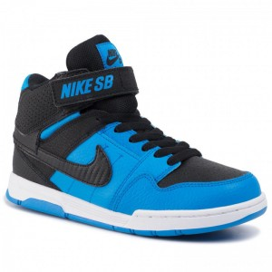 Nike Schuhe Mogan Mid 2 Jr (GS) 645025 404 Photo Blue/Black/White