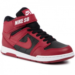 Nike Schuhe Mogan Mid 2 Jr (GS) 645025 601 Red Crush/Red Crush/Black