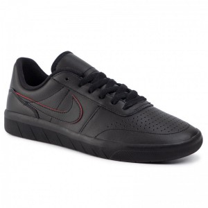 Nike Schuhe Sb Team Classic Prm AR0767 003 Black/Black/University Red