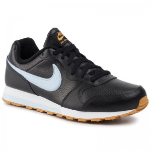 Nike Schuhe Md Runner 2 Flt (GS) CI3907 001 Black/Celestine Blue