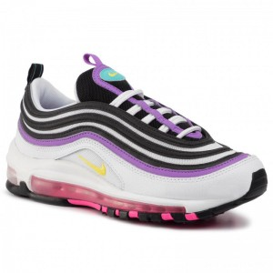 Nike Schuhe Air Max 97 921733 106 White/Dynamic Yellow