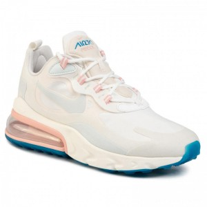 Nike Schuhe Air Max 270 React AO4971 100 Summit White/Ghost Aqua