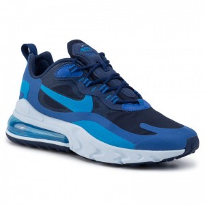 Nike Schuhe Air Max 270 React AO4971 400 Blue Voi/Photo Blue