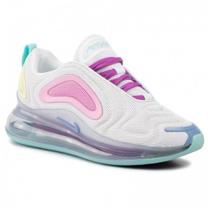 Nike Schuhe Air Max 720 AR9293 102 White/Light Aqua/Chalk Blue