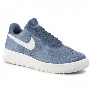 Nike Schuhe Air Force 1 Flyknit 2.0 CI0051 400 Ocean Fog/ Summit White