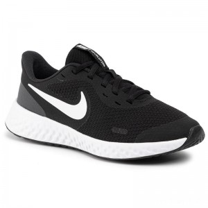 Nike Schuhe Revolution 5 (GS) BQ5671 003 Black/White/Anthracite